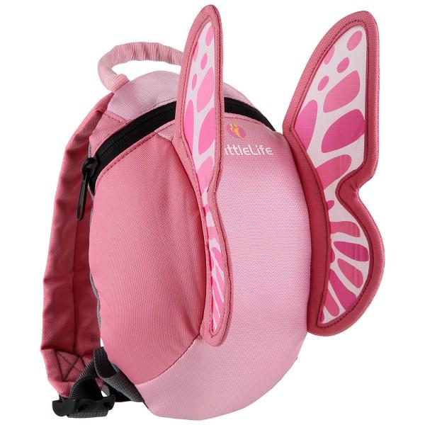 LittleLife Gyerek Hátizsák - Pillangó / Rózsaszín 1-3 év